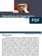 Seminário - Boaventura de Sousa Santos