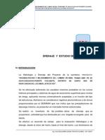 Ix Drenaje y Estudio de Hidrologíco