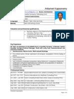 CV K.Anbumani(Revised)