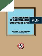 USN - 05 Immigrazione e Nazionalismo