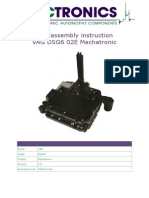 Dis-Assembly Instruction DSG6