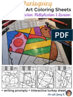 thanksgivingmathcoloringadditionsubtractionmultiplicationdivision 1