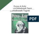 Rabindranath Tagore - Poemas de Kabir