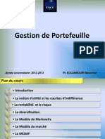 Gestion de Portefeuille 2014 Support n° 1