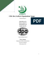 How Csr benefits the organisation?