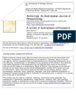 Alcheringa an Australasian Journal of Palaeontology Volume 34 Issue 3 2010 [Doi 10.1080%2F03115511003663939] Zammit, Maria -- A Review of Australasian Ichthyosaurs