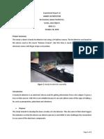 Simple Lie detector Experiment Report