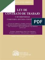 Ley de Contrato de Trabajo Argentina Comentada Miguel Angel Sardegna