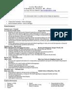 lovie resume 1 page