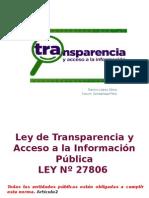 Ley de Transparencia y Acceso a la Informaci+¦n