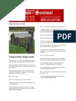parkersburg news and sentinel november 21st 2014
