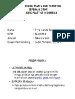 Proses Molding Pembuatan Tutup Oli