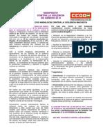 Manifiesto 25 N 2014 UGT a y CCOO a Definitivo _3