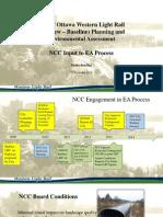 City of Ottawa Western Light Rail Planning and Environment Assessment