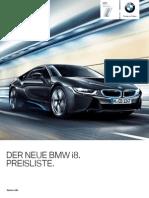 BMW i8 Preisliste