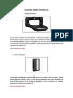 Scanner 3d for Printer 3d