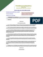 Decreto telecomunicações