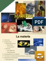 Materia- sustancias puras y mezclas