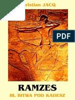 Ch.jacq - Ramzes 3 - Bitwa Pod Kadesz