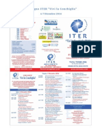 ITER Convegno 2014 a Tivoli Terme