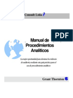 Manual de Procedimientos Analiticos