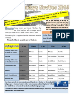 Newsletter Broadsheet 2014 Nov 23
