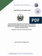 Auditoria Diego de Holguin - Auditoria Forense