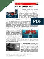 Music in Horror Films Worksheet