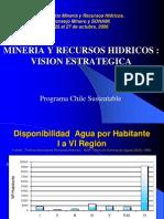 Mineria y Recursos Hidricos - Vision Estrategica