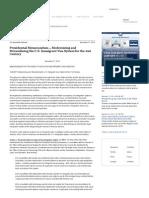 Presidential Memorandum -- Modernizing and Streamlining the U.S