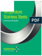 Austenitic High Temperature 153MA 253MA Stainless Brochure