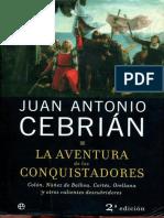Aventura de Los Conquistadores, La - Juan Antonio Cebrian