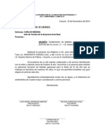 OFICIO DONACION