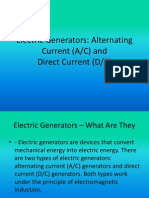 Electric Generators