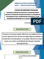 FRUCTIFICACION EN FRUTALES EN EL PERU