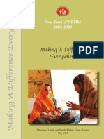 Final English 4Years NRHM Ministry