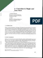 Erosion-corrosion Multiphase Flow
