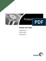 Product Manual - Cheetah 10K.7 SCSI