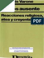 VARONE, François. El dios ausente.pdf