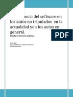 Importancia Del Software en Los Autos en La Actualidad