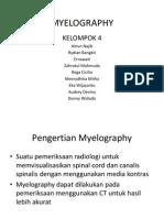MYELOGRAPHY tugas kelompok