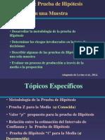 Act Enseñ Prueba de Hipotesis
