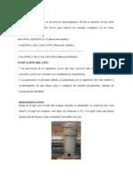 Cementacion Con Zinc