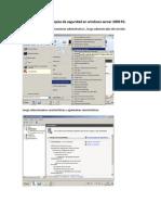 Pasos Para Realizar Copias de Seguridad en Windows Server 2008 R2
