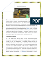 Historia Del Ecuavoley