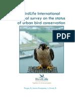 BirdLife International Global Survey on the Status of Urban Bird Conservation