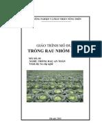 Giáo trình mo đun - Trồng rau nhóm ăn lá