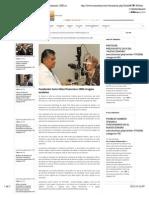 21-11-14 Fundación Cano Vélez financiara 1000 cirugías oculares