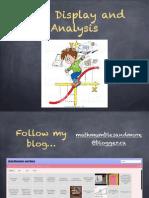 Data Display and Analysis