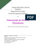 Dimensionado Sistemas Fotovoltaicos - Miguel Alonso Abella